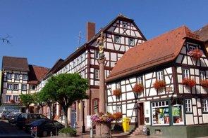 Fachwerkidylle in Buchen
