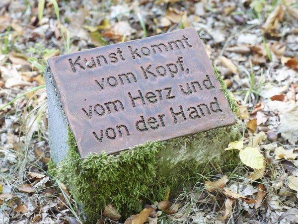 Skulpturenpark Seckach - Eine Freundschaft von Kunst und Wald