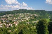 Blick auf Neckargerach