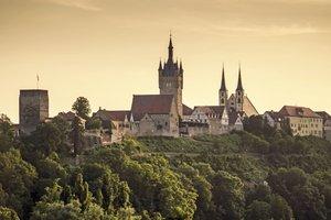 Die bekannte Stadtsilhouette von Bad Wimpfen