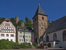 Mitteltor und Marktkirche