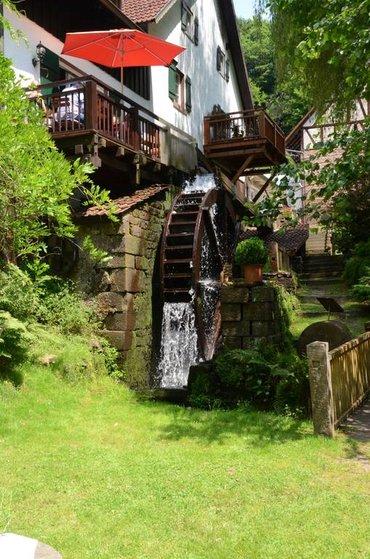 Die Heidersbacher Mühle bei Limbach