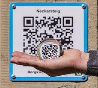 Um den digitalen Wanderpass nutzen zu können, müssen sich die Wanderer vorher unter www.neckarsteig.world-qr.com mit ihrer E-Mailadresse und einem Passwort registrieren.