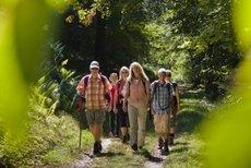 Siegelsbach: Über Bäche und durch Obstbaumalleen