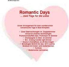 Romantic Days...
