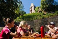 Burgruinen Stolzeneck und Minneburg