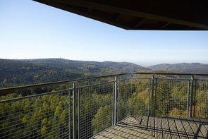 Wunderschöner Ausblick von Wilhelmsfelder Teltschikturm