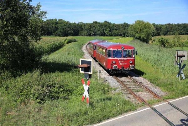 Über 17 Kilometer führt die Strecke von Neckarbischofsheim im Kraichgau bis hinauf nach Hüffenhardt im Kleinen Odenwald.