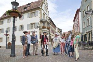 Bei einer Stadtführung erfahren Sie viel Wissenswertes über die Deutschordensstadt Gundelsheim