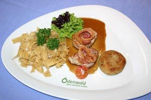 Ein kulinarisches Highlight in der Region: der Odenwald-Teller!