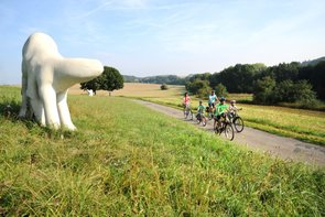 Skulpturenradweg - ein Highlight für jeden Radler