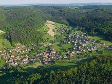 Allemühle: Talblickweg Allemühl