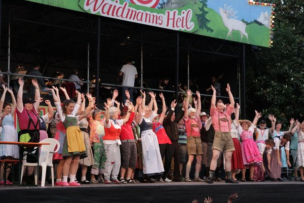 Im Sommer jeden Jahres finden die Schlossfestspiele statt!
