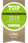 Logo Trekking Magazin - Top-Fernwanderwege 2019