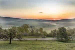 Sonnenaufgang am Mittelberg