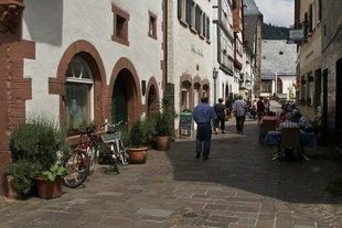 Die romantische Altstadt von Hirschhorn