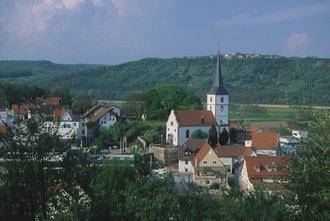 Wunderschöner Blick auf Obrigheim