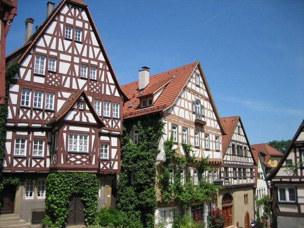 Fachwerk in Bad Wimpfen