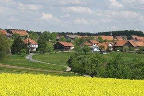 Blick auf den idyllischen Mudauer Ortsteil Reisenbach