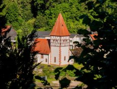Romanisches Kirchlein St. Mauritius