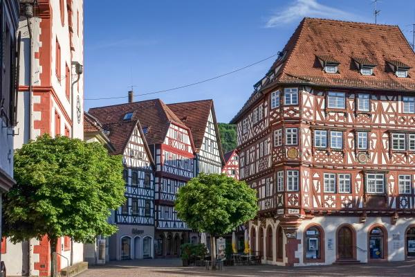 Altstadt Mosbach - immer ein Besuch wert