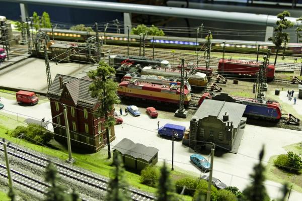 Die Modellbahnwelt Odenwald ist die größte HO-Schauanlage Süddeutschlands.