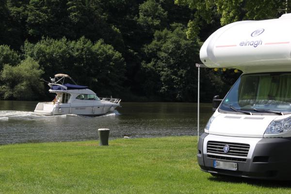Fortuna Camping am Neckar in Binau