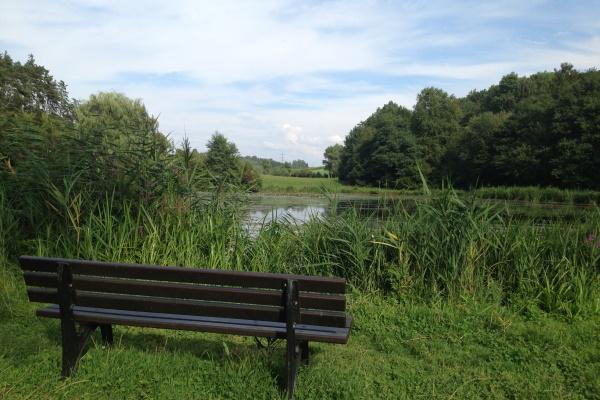 Idyllisch liegt der See im Elztaler Ortsteil Auerbach...