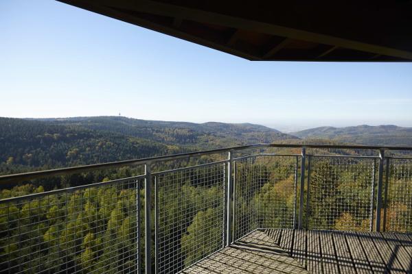 Eine atemberaubende Aussicht wartet nach dem Aufstieg des Teltschikturms auf Sie!
