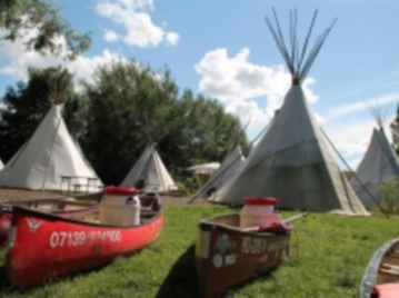 Indianerfreizeit mit Tipi-Camp in Haßmersheim