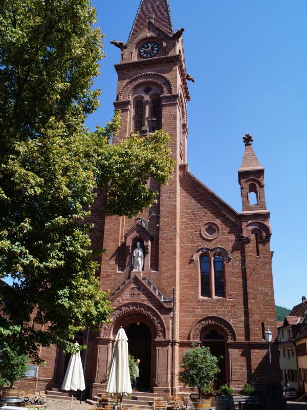 Kath. Kirche St. Johannes Nepomuk Neckargemünd-Altstadt