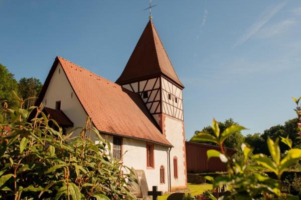 Romanisches Kirchlein St. Mauritius Osterburken-Hemsbach