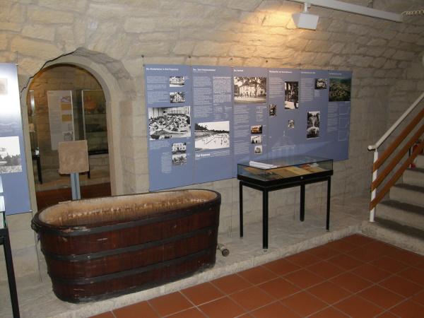Historische Badewanne