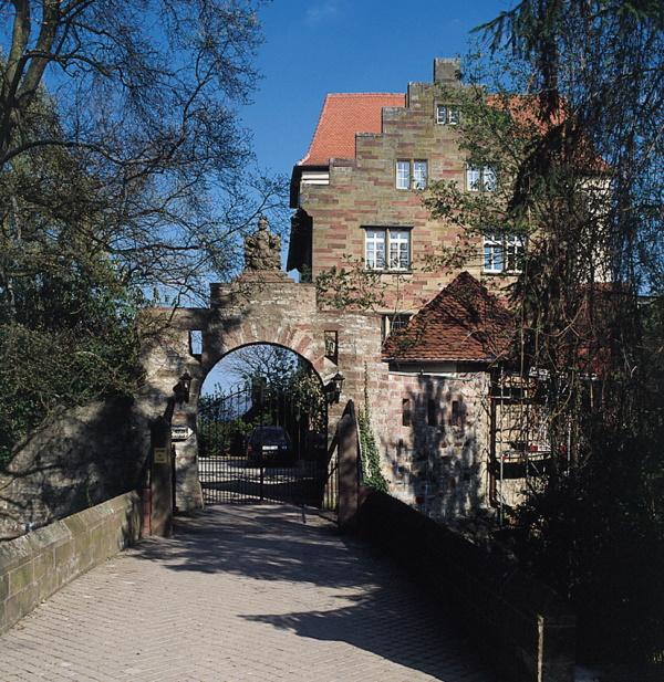 Schloss Neuburg wird heute als Hotel genutzt