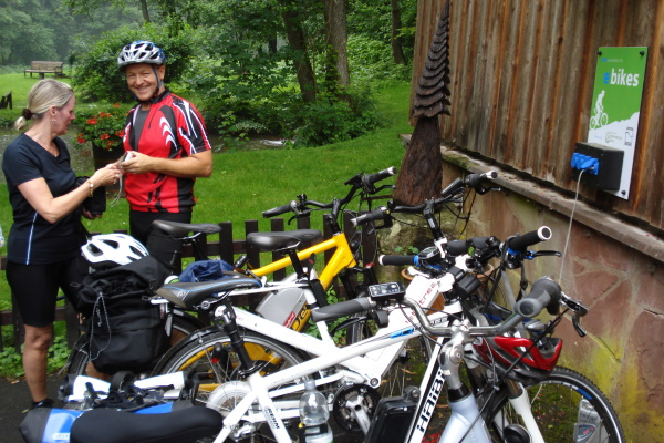 E-Bike Lade- und Verleihstationen im Odenwald