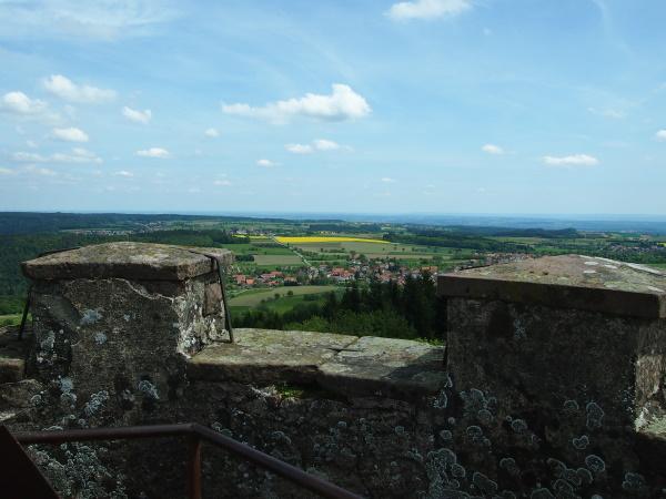 Traumhafter Ausblick vom Katzenbuckel-Turm