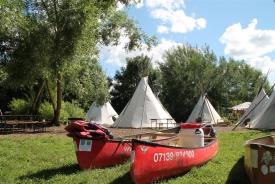 Haßmersheim - Tipi Camp