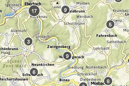 Karte / Tourenportal