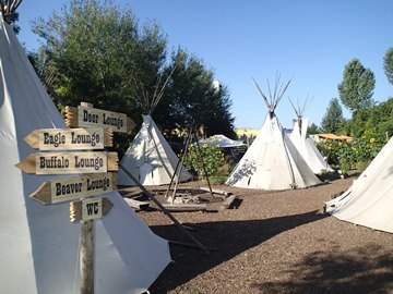 Crow River Tipi Camp Haßmersheim